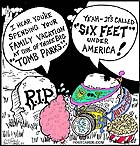 Tomb Parks - Six Feet Under America!!